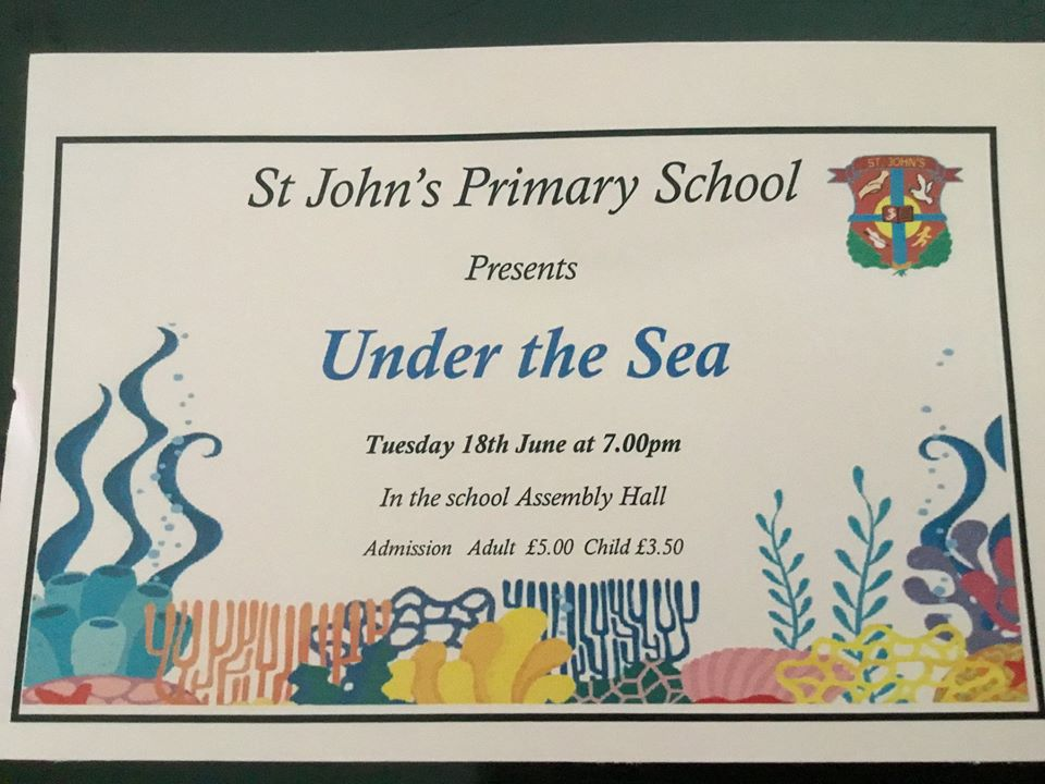 Under the Sea - Tuesday 18 & Wednesday 19 June 2019