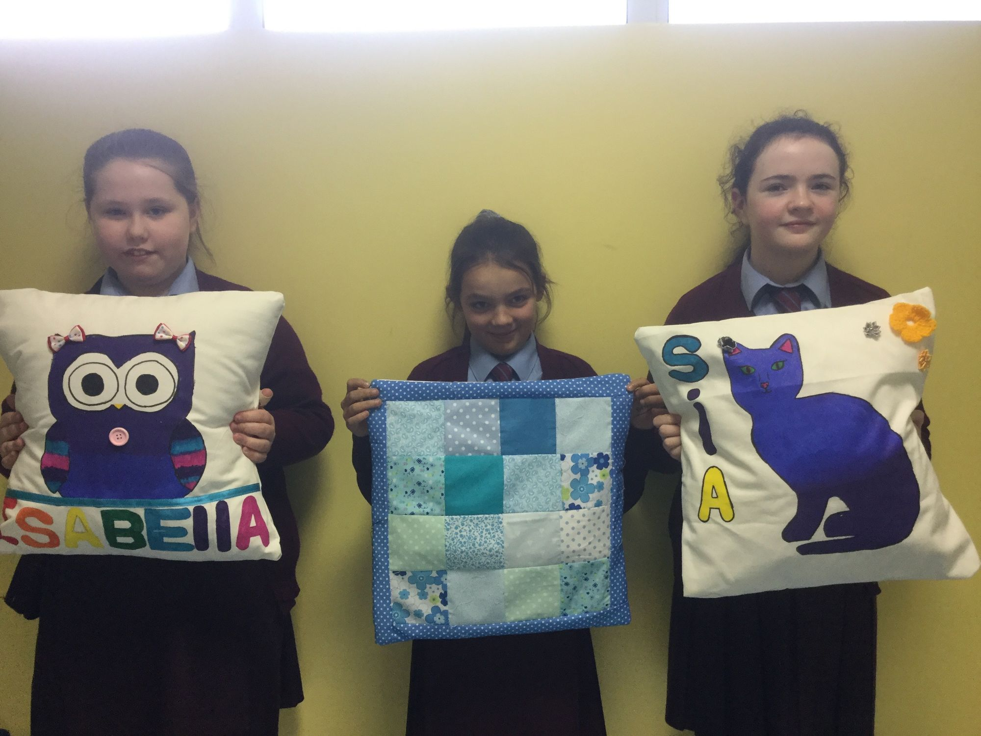 Our Completed Cushions