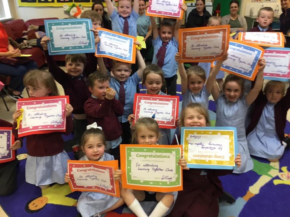 Congratulations to our Learning Together club participants