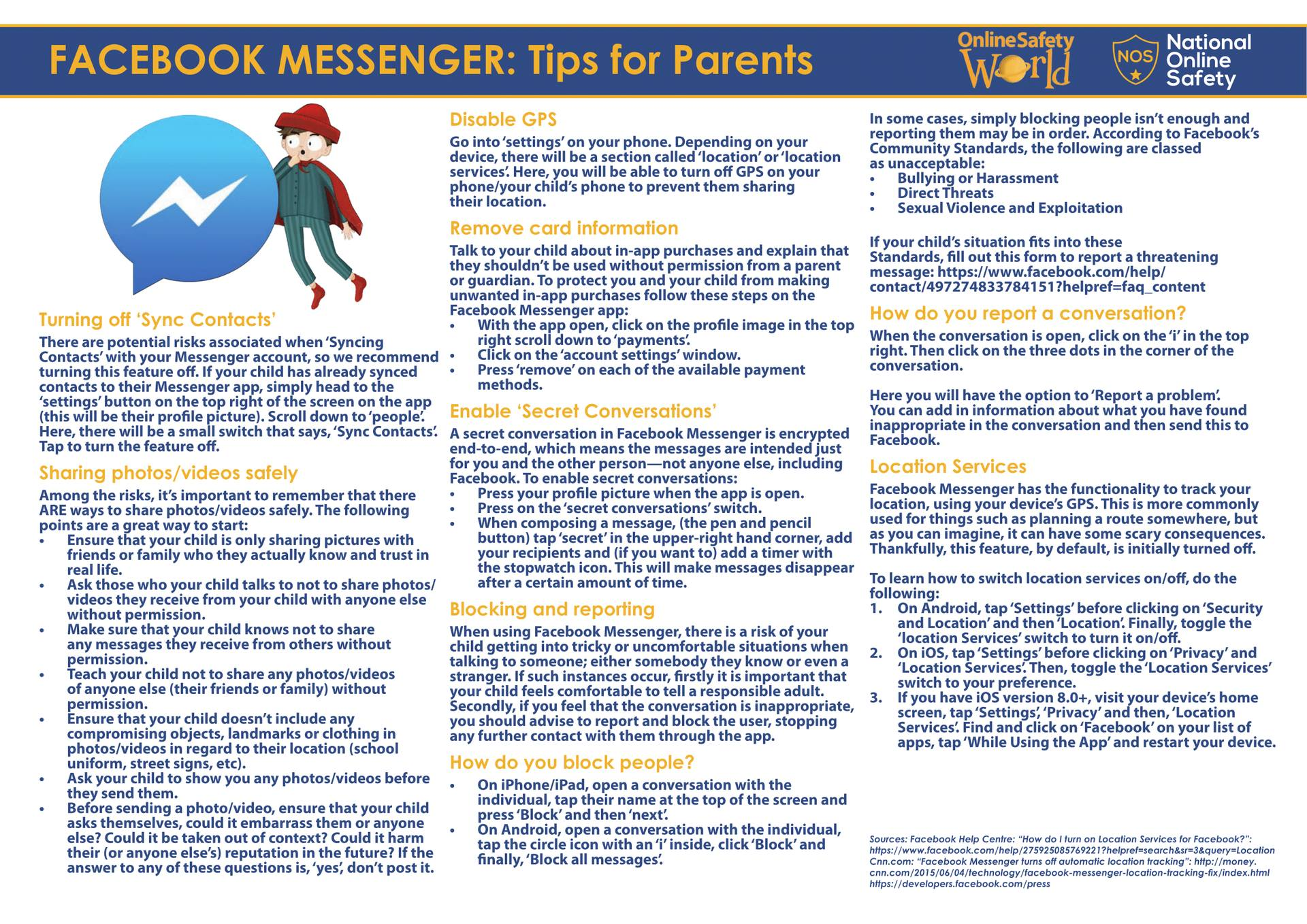 What parents need to know about Facebook Messenger