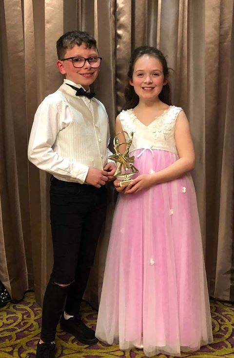 Congratulations to our Year 6 pupils Emily and Oran