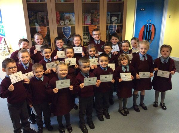 Pupils of the week 29/11/19