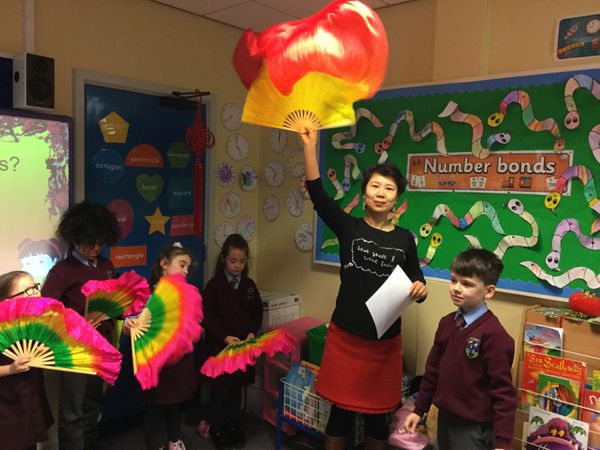 3A learning about Chinese New Year