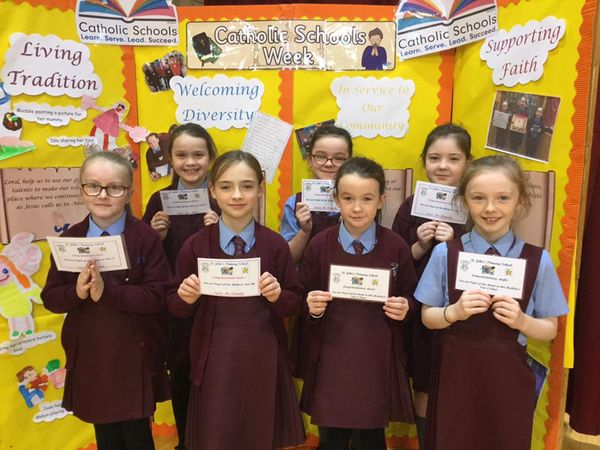 Congratulations to all our pupils of the week