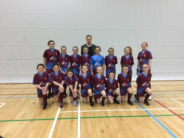 INTO City Indoor Finals - Girls Gaelic