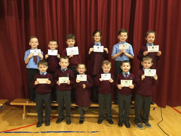 Congratulations to our P1-4 Healthy Eaters and Pupils of the Week!