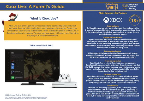 What parents need to know about Xbox Live