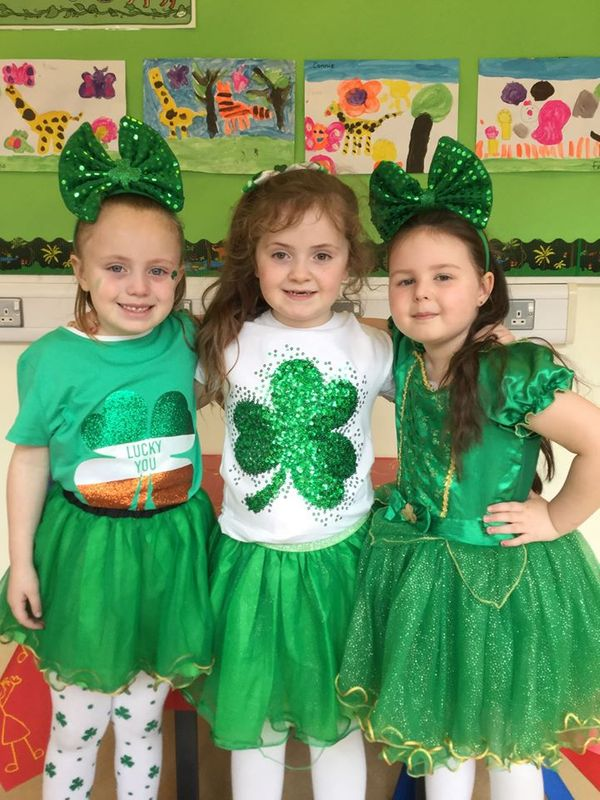 St. Patrick's Celebrations in Mrs McCourt's Class
