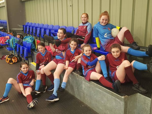 Girls Gaelic team raising awareness for World Down's Syndrome Day