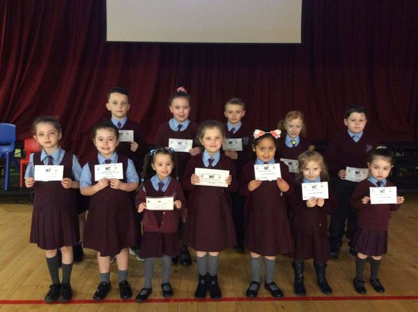 Congratulations to our Foundation Stage and Key Stage 1 pupils of the week!