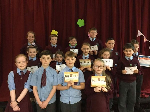 Congratulations to all our KS2 pupils of the week