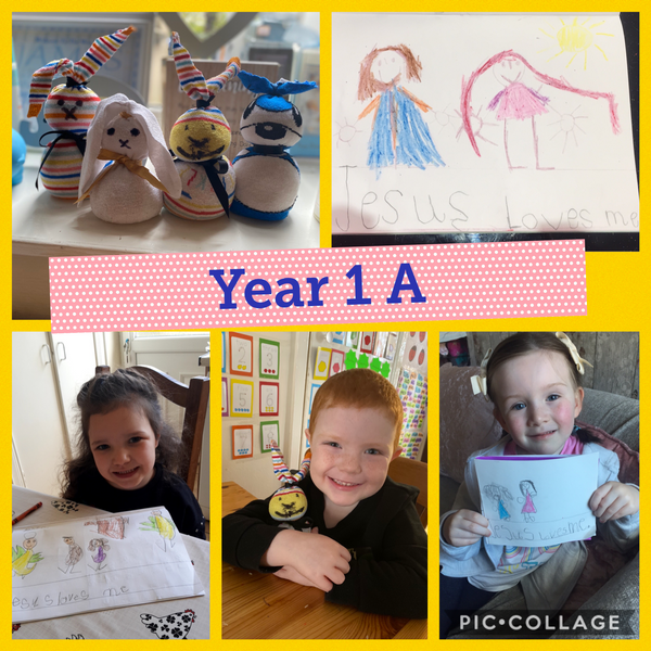 Home learning in 1A