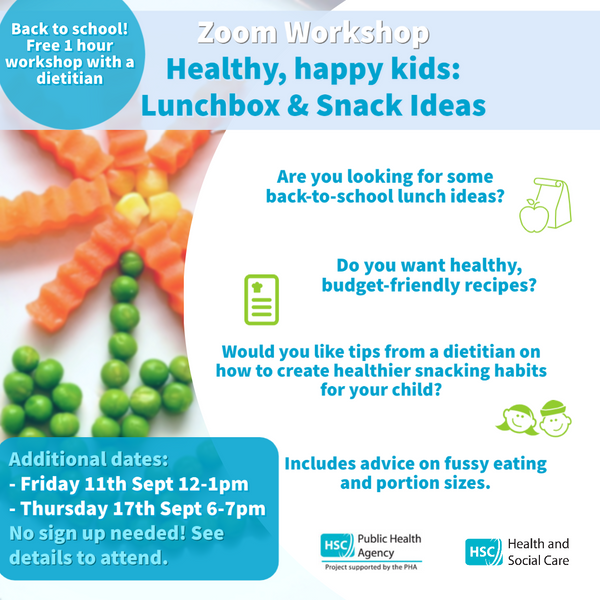 Packed lunch and healthy breaks guidance - Letter to Schools