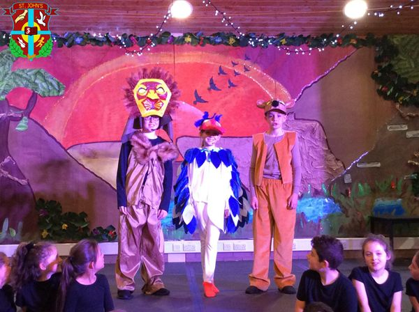 Some from our Lion King dress rehearsal today.
