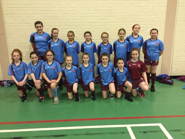 A fantastic effort from our two girls' Gaelic teams!