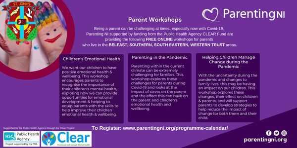SAFEGUARDING: FREE ONLINE parenting courses and professionals sessions